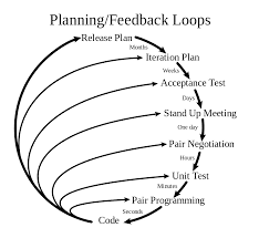Planning and feedback loops in extreme programming